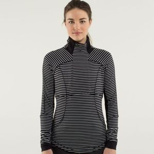 Lululemon Base Runner Half-Zip in Parallel Stripe